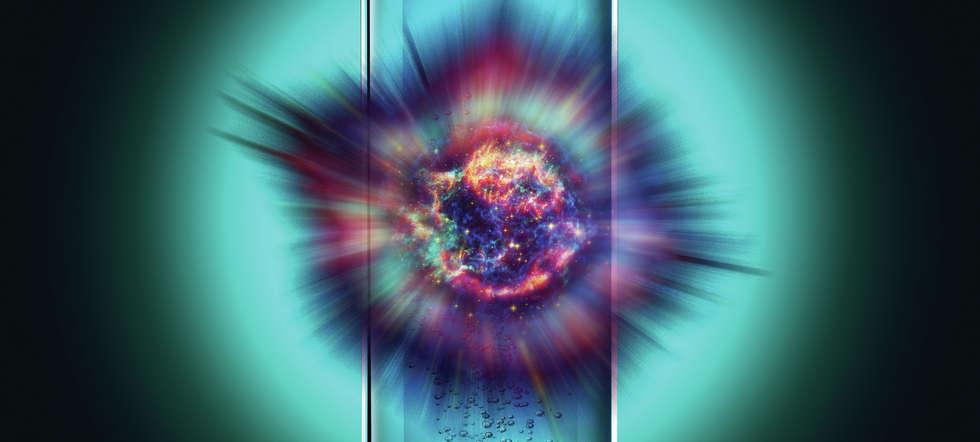 Supernova im Reagenzglas