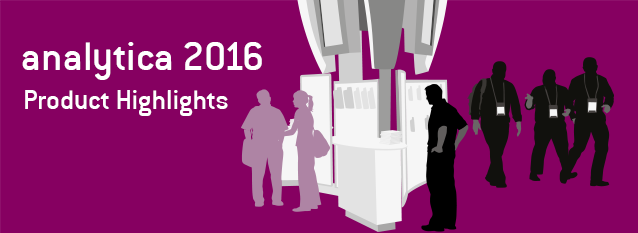 Product Highlights of analytica 2016