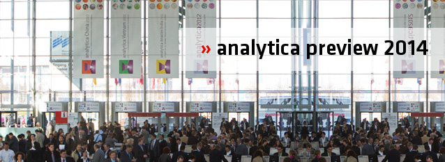 Product Highlights of analytica 2014