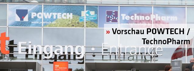 Vorschau POWTECH / TechnoPharm