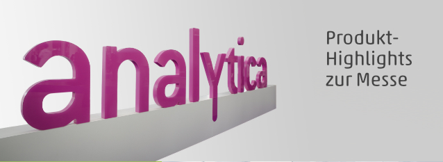 Produkthighlights der analytica 2018