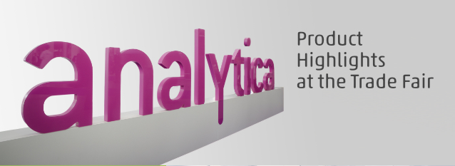 Product Highlights of analytica 2018