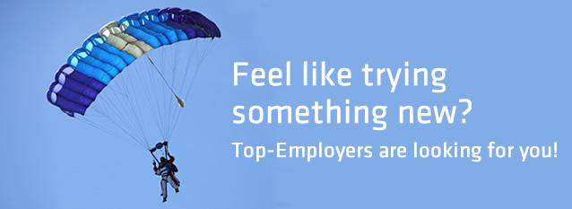 Eigenwerbung Jobs - englisch